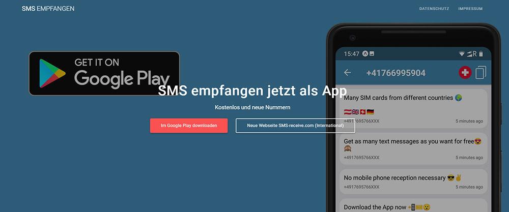 Anonym sms senden kostenlos